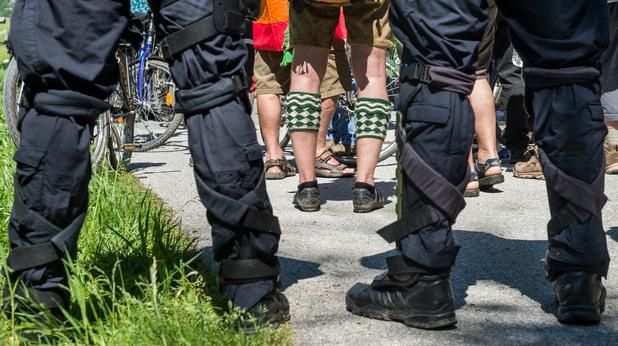 г-7, протести