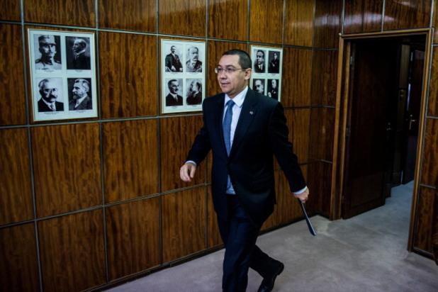 румънският премиер виктор понта