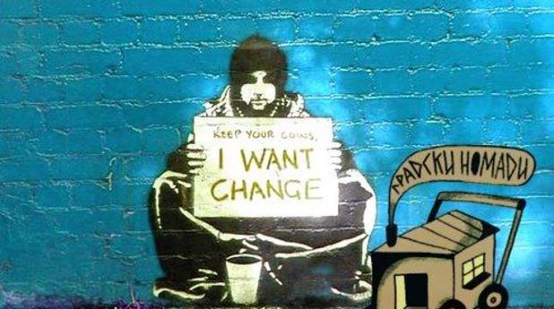 клошар, клошари, бездомни, бездомници, градски номади