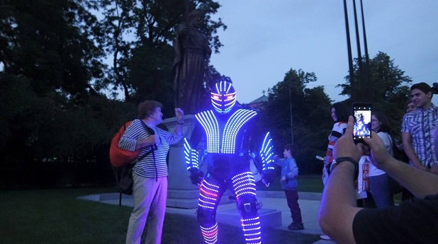 роботът andromega
