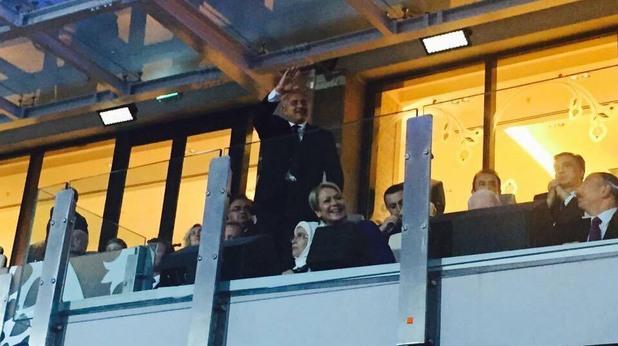 бойко борисов на церемонията по откриването на европейските игри в баку