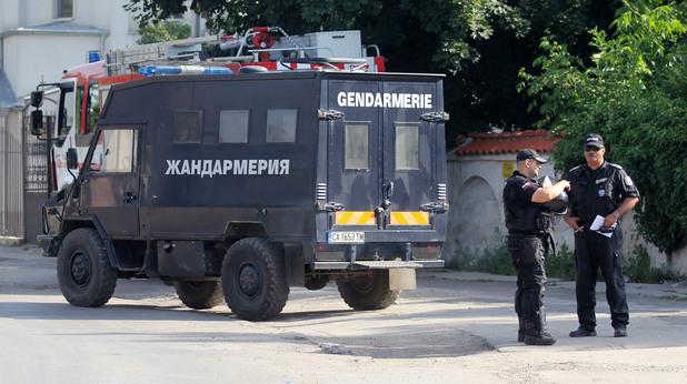 Полицейска акция след размириците в Орландовци
