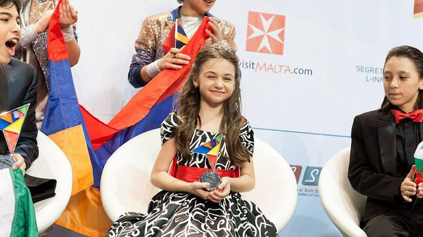 крисия - детска евровизия 2014