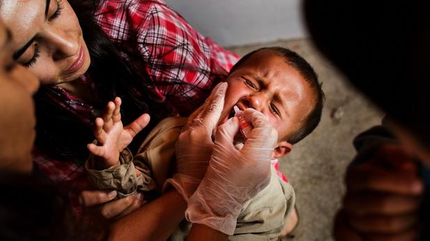 Ваксина на дете
