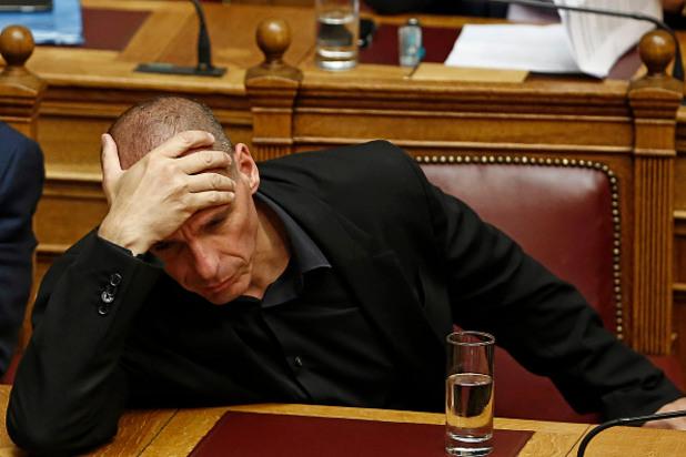 министърът на финансите на гърция янис варуфакис