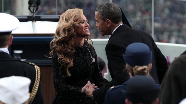 Барак Обама и Бийонсе