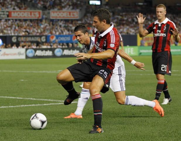 """Реал (Мадрид) – Милан 5:1 през 2012 г. """"Янки Стейдиъм"""""""