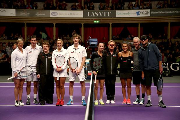 Тенис в Роял Албърт Хол в Лондон