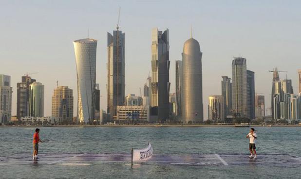 Федерер - Надал в Доха 2011 г.