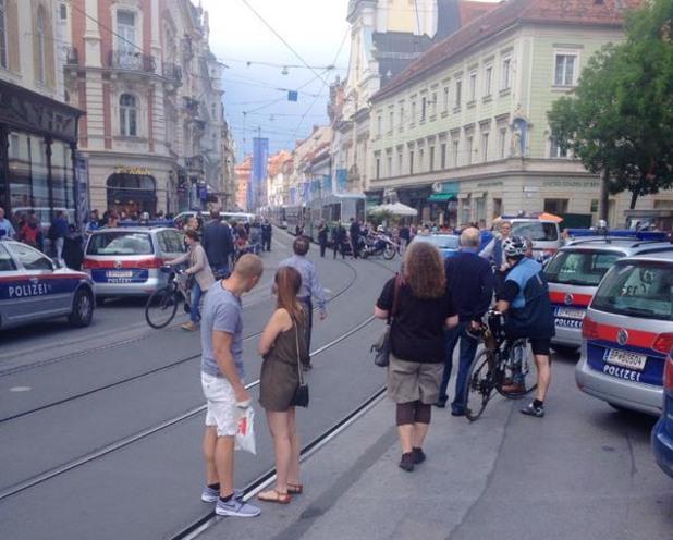 Австрийският град Грац е в траур заради гибелта на трима души, които бяха прегазени с джип в събота посред бял ден от обезумял шофьор в центъра на града.