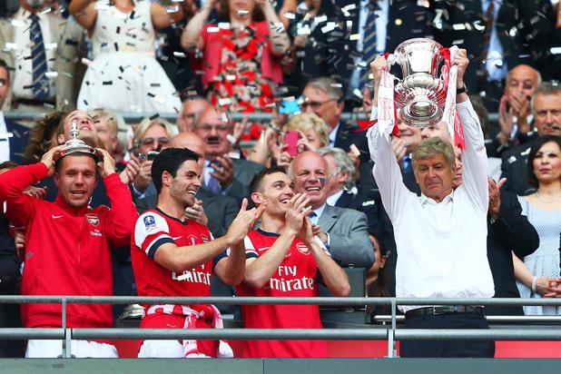 Арсенал с ФА Къп 2014 г.