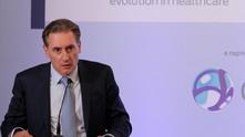 нес, 23 юни беше открита конференция на КРИБ за здравната реформа: Бизнес диагноза. На снимката:  Кирил Домусчиев