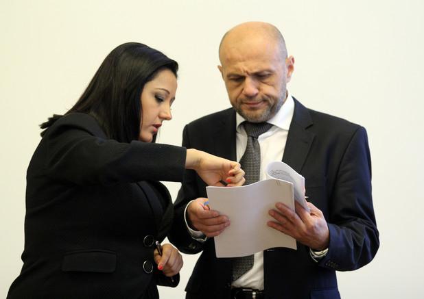 Лиляна Павлова и Томислав Дончев