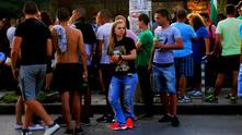 """събиране на протестиращи в """"орландовци"""""""