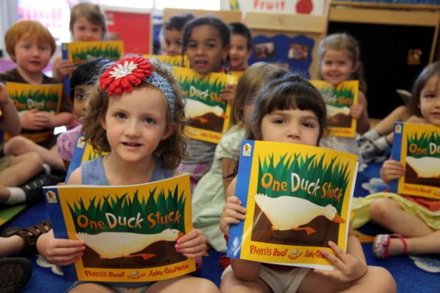 деца с книги