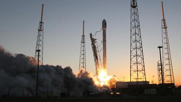 falcon9 на компанията spacex