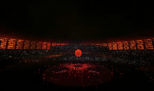 баку,европейски игри,церемония по закриване
