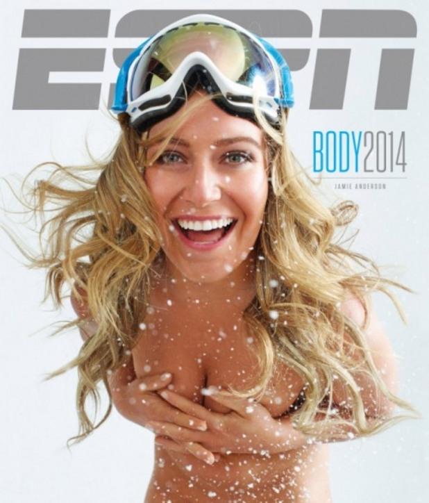 ESPN BODY ISSUE, атлети, голи атлети, спортисти