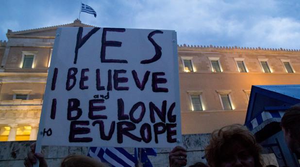 Протест в Гърция
