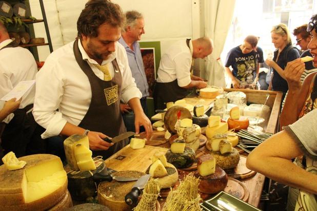 Cheese festival, bra, Italy