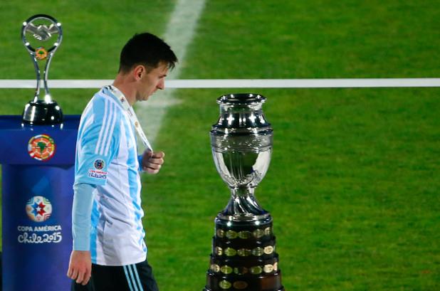 Меси минава покрай купата Копа Америка 2015 г.