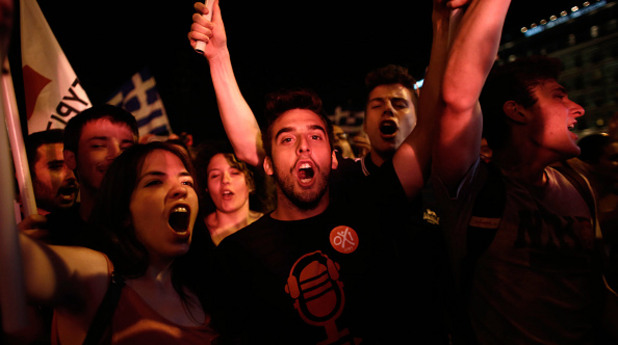 Гърция празнува след референдума