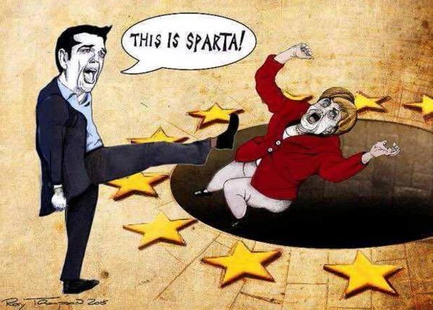 Ципрас и Меркел