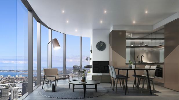 Бионсе - небостъргач в Мелбърн