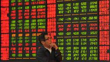 Срив на фондовите борси в Китай