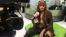 джони деп, джак спароу, карибски пирати
