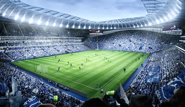 тотнъм, уайт харт лейн, нов стадион