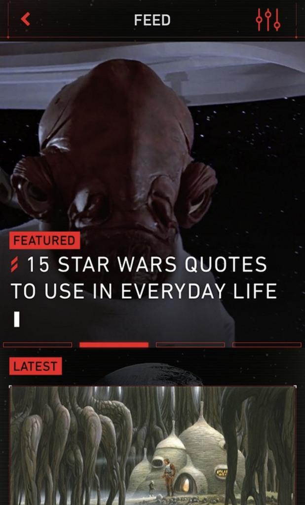 междузвездни войни, star wars, апликация, приложение