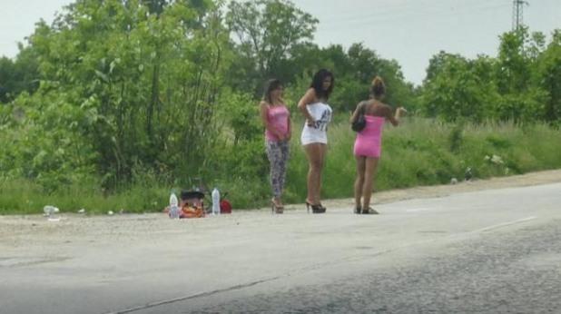 Проститутки по пътищата на България