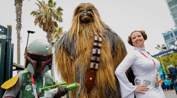 Фенове на Star Wars на фестивала Comic-con