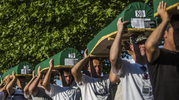 Погребения в Сребреница