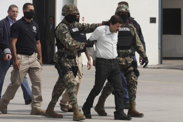 хоакин гузман е арестуван