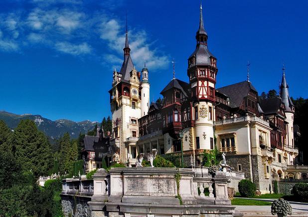 Замъкът Пелеш, Румъния