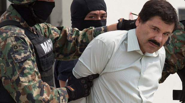 Хоакин Гузман, ел чапо, затвор, бягство