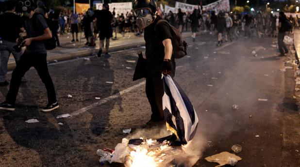 синтагма, атина, гърция, протест, полиция