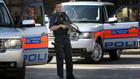 полицейска акция в лондон