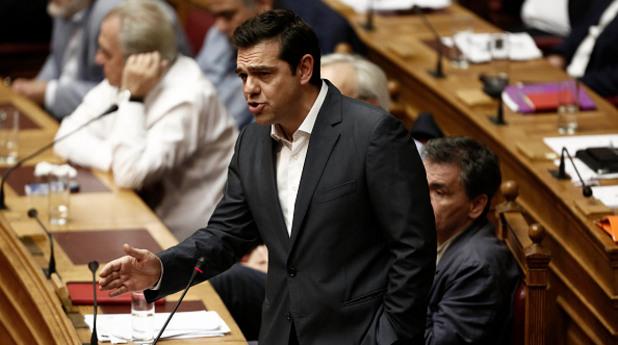 гърция, парламент, алексис ципрас