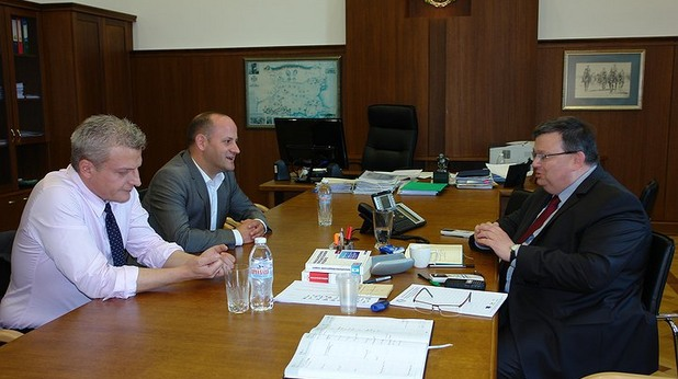 Сотир Цацаров, Радан Кънев и Петър Москов