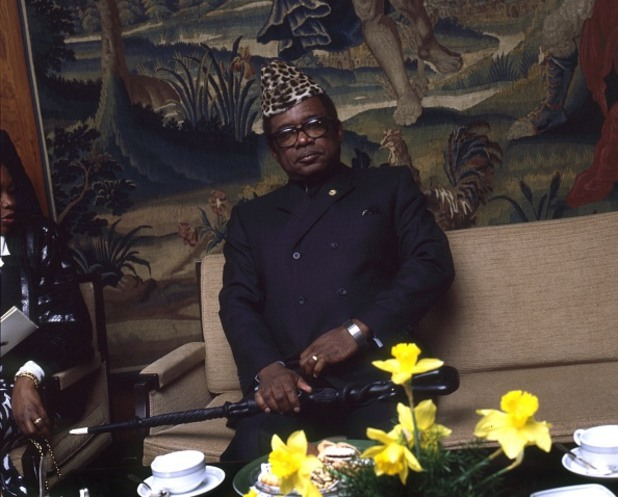 корумпирани политици - Мобуту Сесе Секо
