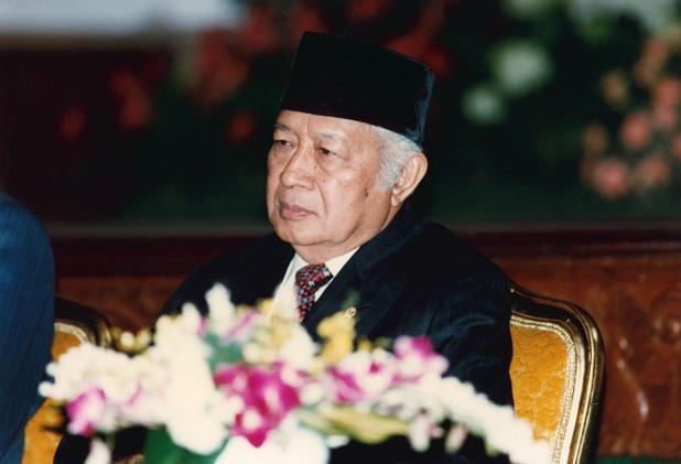 корумпирани политици - Мухамед Сухарто