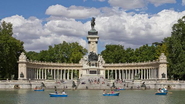 Retiro Park Мадрид