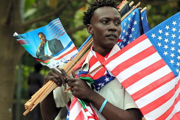 Очакване на визитата на американския президент Барак Обама в Кения