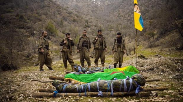 Войници на ПКК