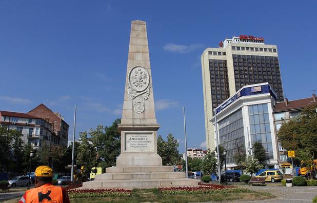 Руски паметник в ремонт