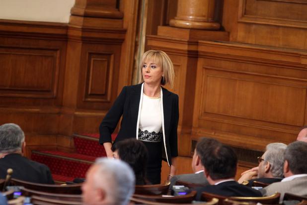 мая манолова след избора й за омбудсман на република българия