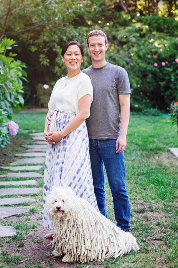 марк зукърбърг обяви, че съпругата му е бременна с първото им дете